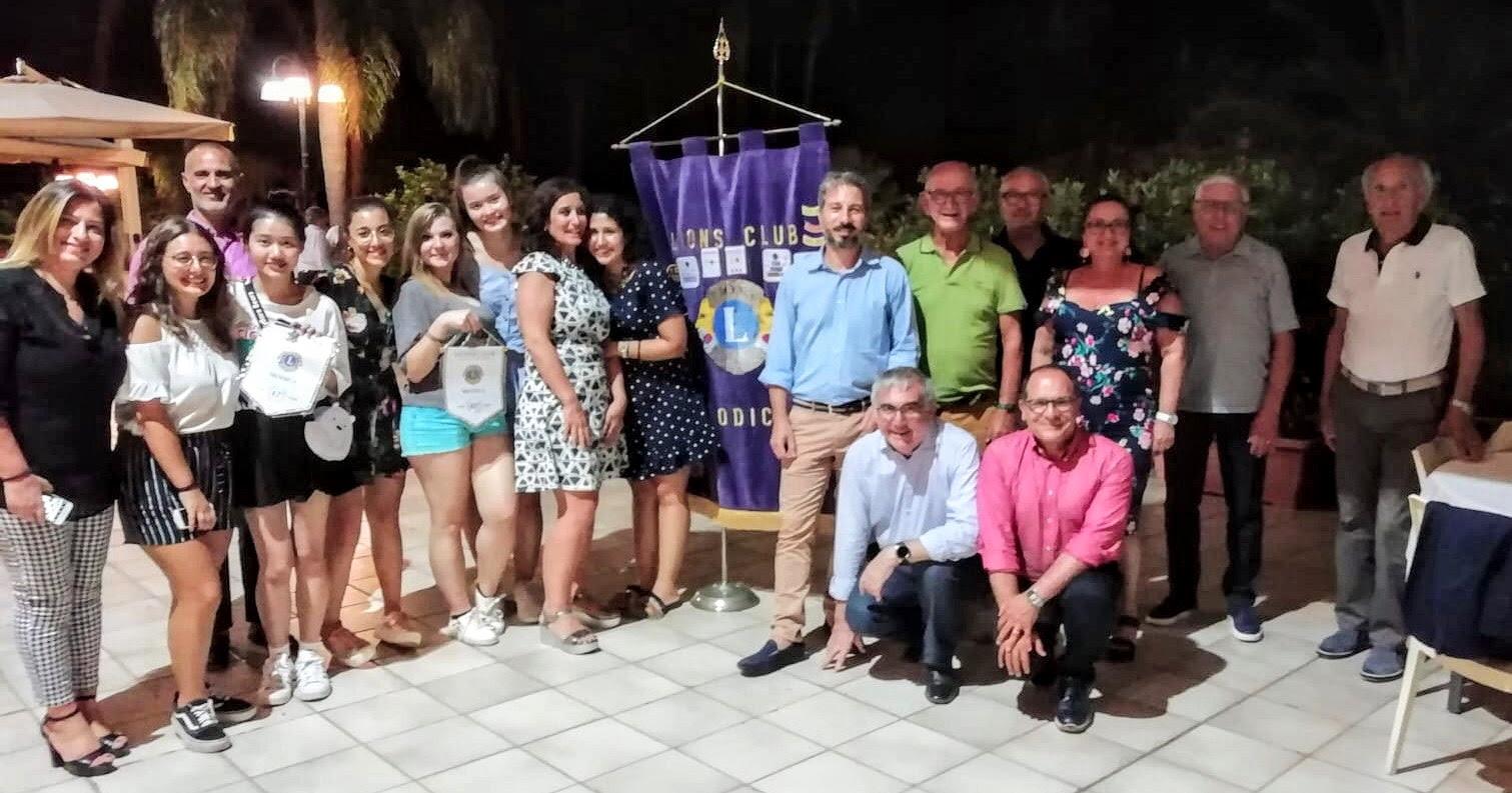 Scambi giovanili Lions, studenti stranieri ospiti del Club a Modica
