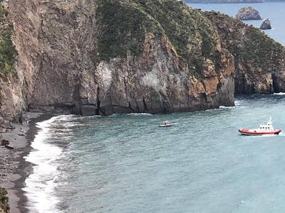 Recuperato il cadavere di una donna in una spiaggia di Lipari