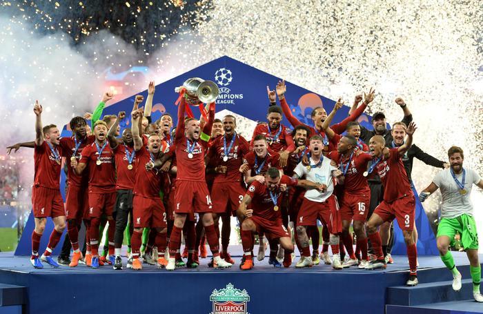 Al Liverpool la Champions League dopo avere superato il Tottenham per 2 a 0