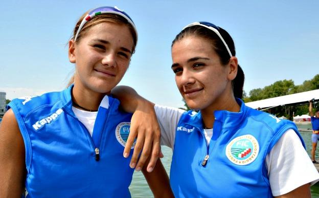 Canottieri Palermo, medaglia d'oro ai Mondiali  per le sorelle Lo Bue