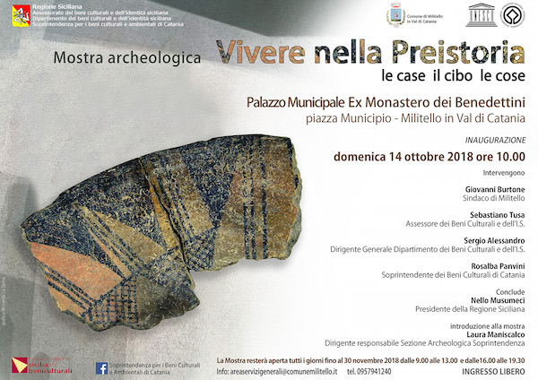 A Militello Val di Catania una mostra sulla preistoria
