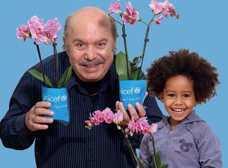 Unicef, a Marina di Ragusa e a Vittoria l'orchidea per salvare i bambini malnutriti