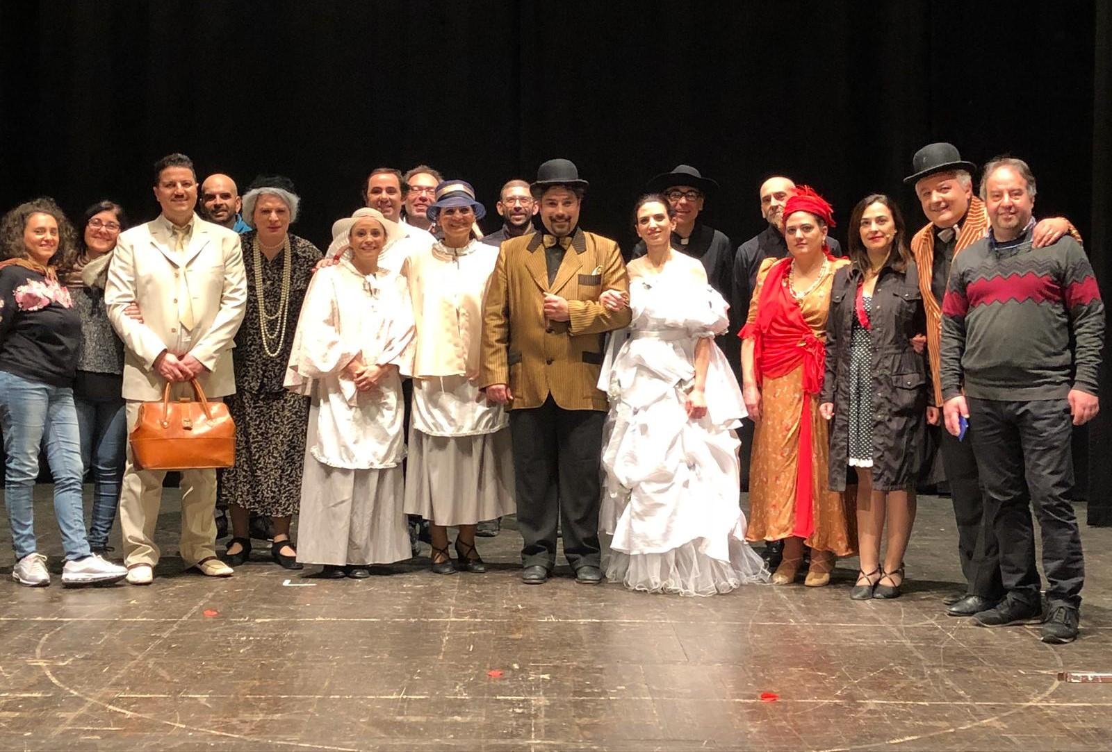 Modica, grande successo di pubblico al Teatro Garibaldi per