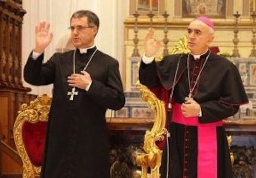 L'arcivescovo di Palermo rientra nella sua Modica: