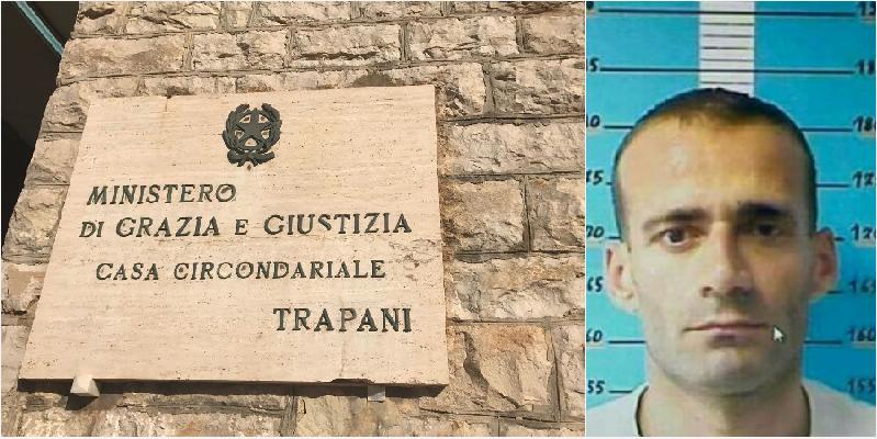 Arrestato il detenuto che lunedì era evaso dal carcere di Trapani