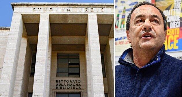 Lucano alla 'Sapienza' di Roma, vietata la manifestazione di Forza Nuova