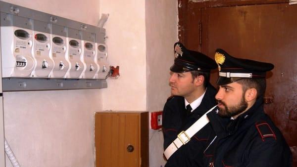 Furto di energia elettrica, due persone arrestate nel Palermitano