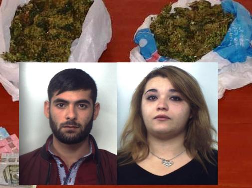 Bloccati ad Aci Sant'Antonio con la droga: coppia finisce in carcere
