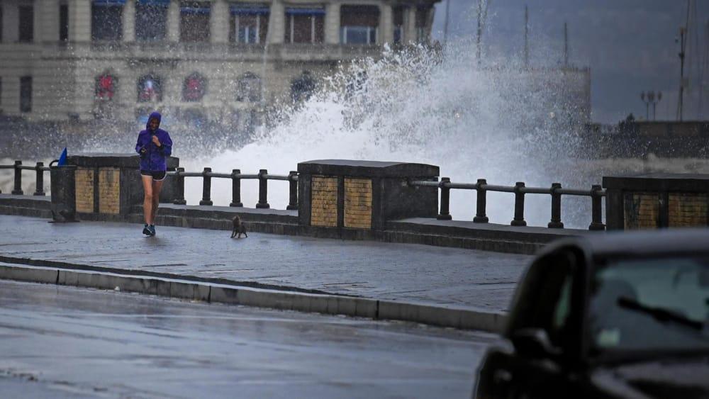 Maltempo, a Napoli caduti alberi e calcinacci: chiuse alcune strade