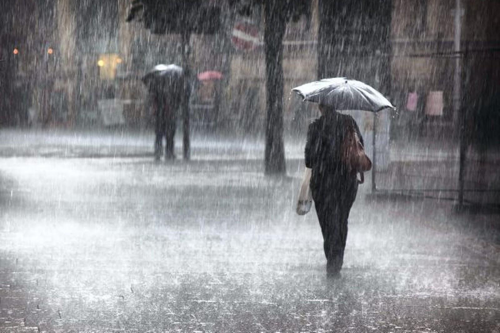 Protezione civile, allerta meteo: piogge su Calabria e Sicilia