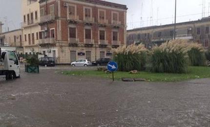 Maltempo, bombe d'acqua su Siracusa e Catania