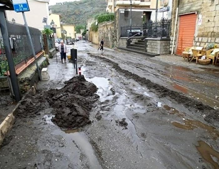 Piogge abbandonanti in Campania, colpite le province di Caserta e Salerno