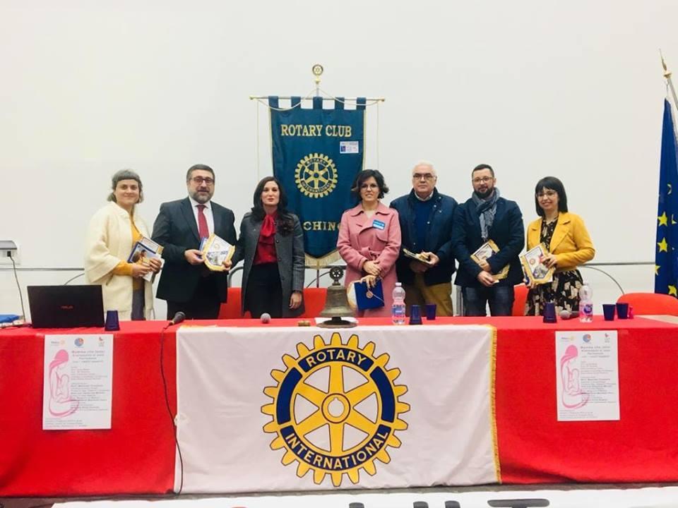 L'importanza dell'allattamento materno in un convegno Rotary di Pachino