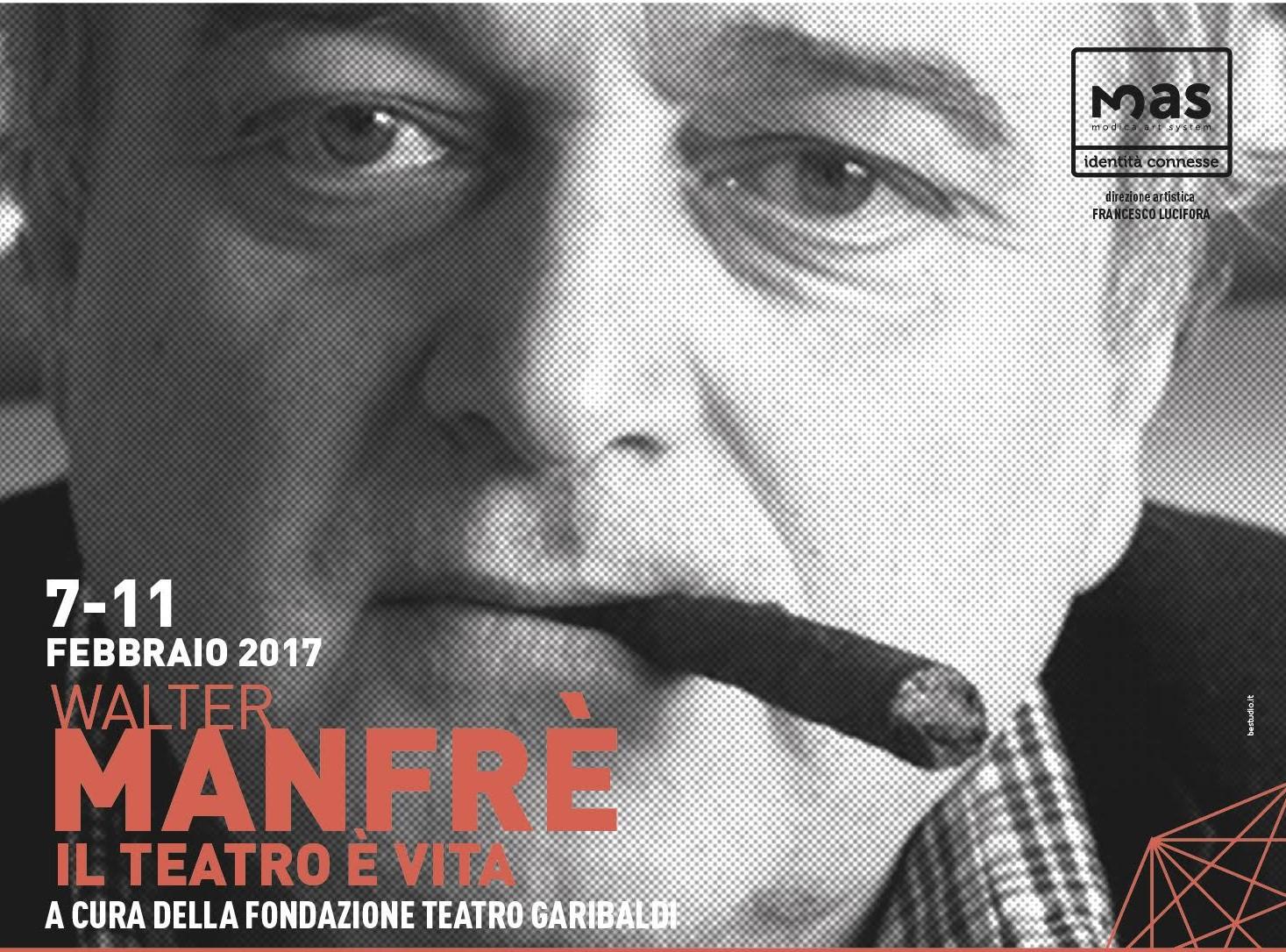 Modica, seminario di recitazione con l'attore Walter Manfrè