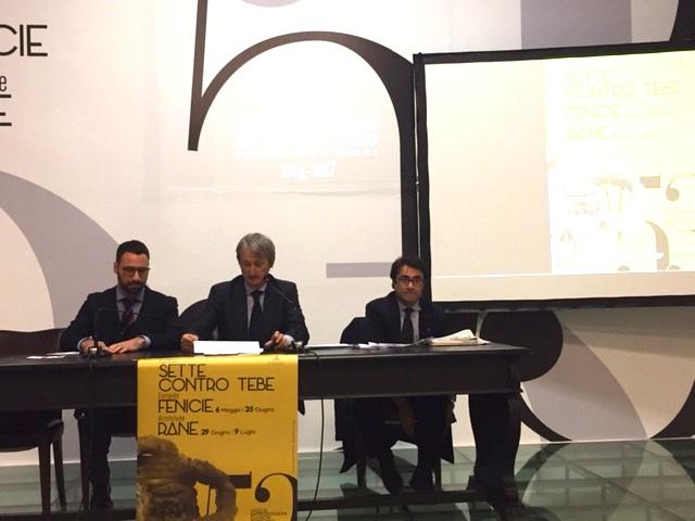 Spettacoli classici a Siracusa, presentato il manifesto d'autore firmato Dessì