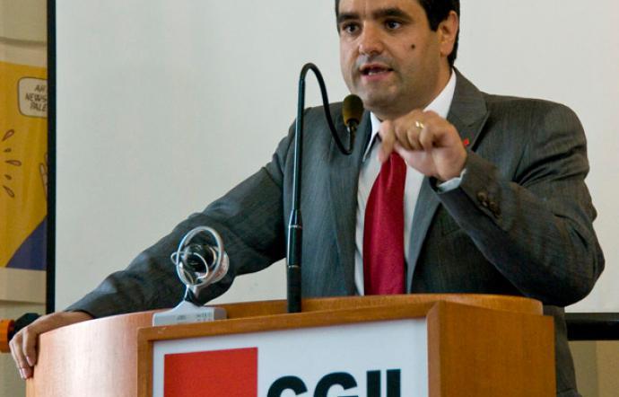 Alfio Mannino è il nuovo segretario della Cgil in Sicilia