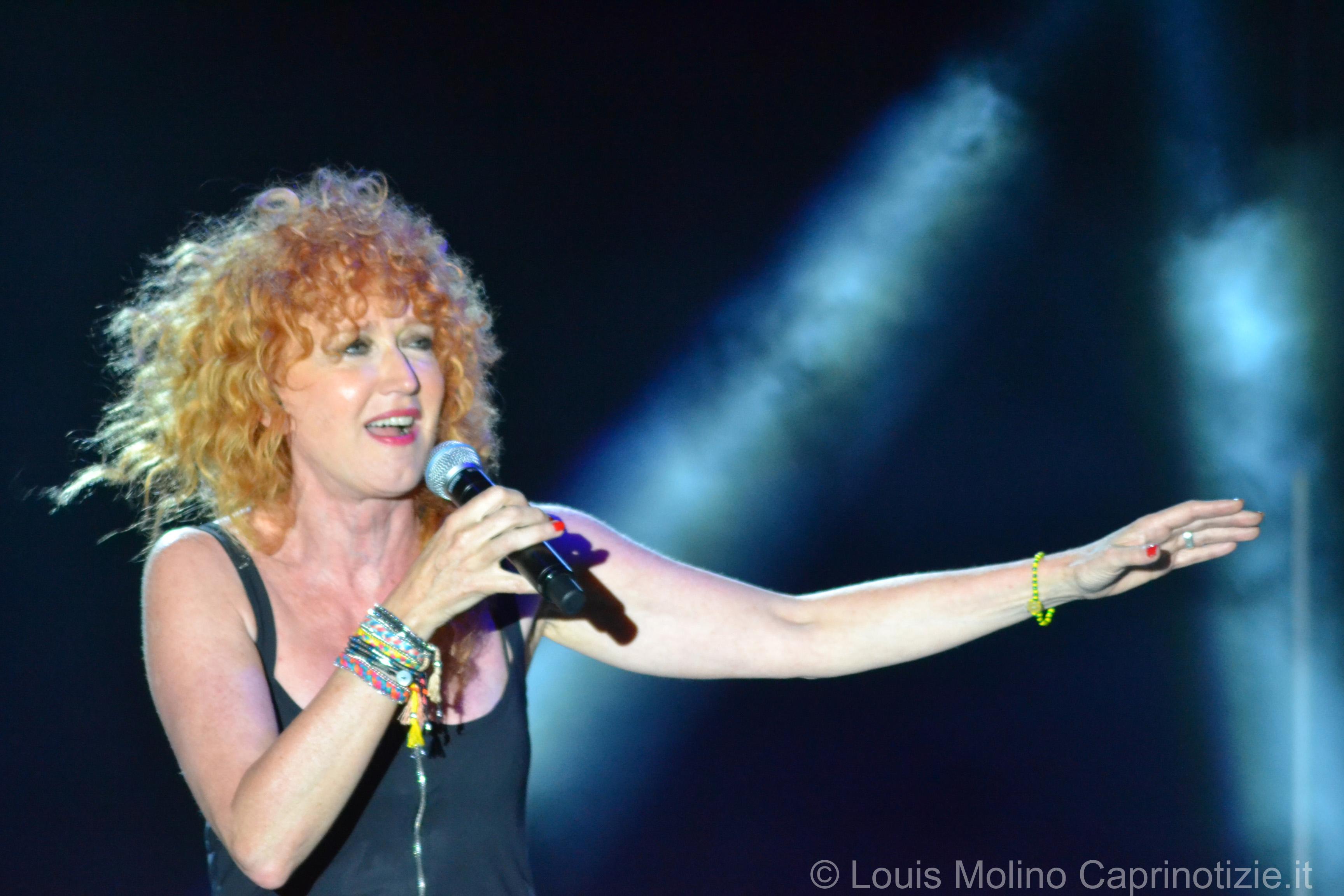 Fiorella Mannoia con tre tappe in Sicilia, Ragusa, Taormina e Palermo