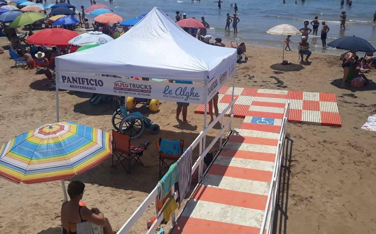 Modica, a Marina e Maganuco spiagge senza barriere con personale Asp