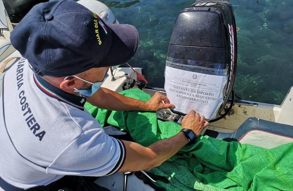 Mare sicuro 2021, conclusa l'operazione della Guardia Costiera di Riposto
