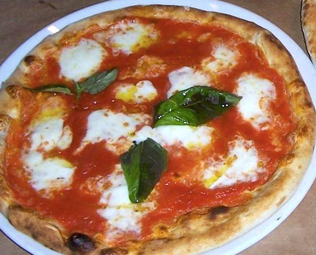 Pizza Margherita cibo a domicilio più richiesto