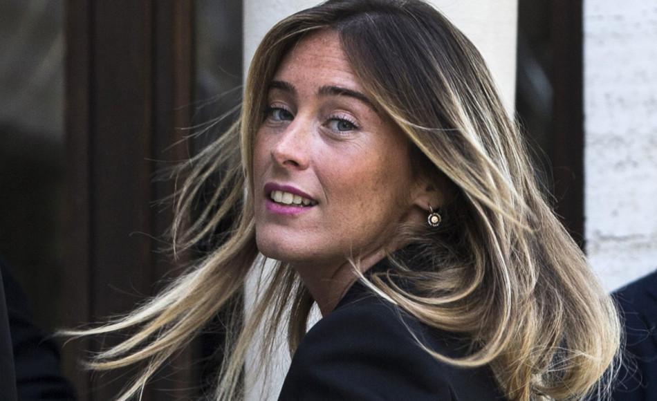 Maria Elena Boschi a Palermo annuncia l'assemblea nazionale di Italia Viva