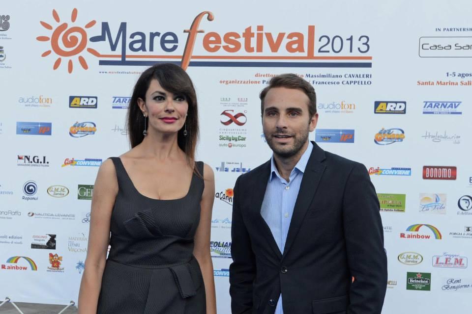 Maria Grazia Cucinotta al Festival di Salina racconterà l'ultimo film