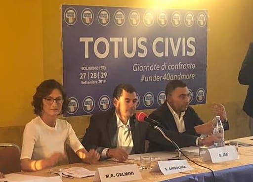 Mariastella Gelmini a Solarino per una tre giorni di Cantiere Popolare