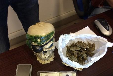 Nascondeva 50 grammi di marijuana, arrestato un diciottenne nel Vibonese