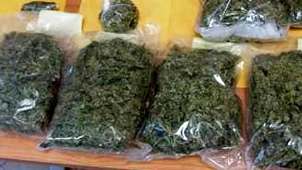 Preso a Canicattì con 6 chili di marijuana essiccata