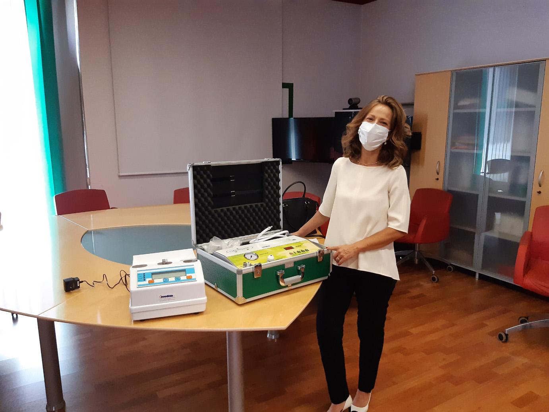 Asp di Siracusa, sperimentazione di ozonoterapia: donata apparecchiatura