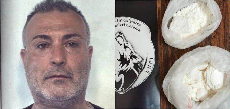 Bloccato a Ramacca con un chilo di cocaina: in cella a Caltagirone