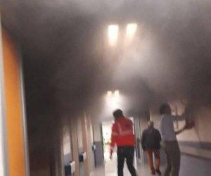 Incendio in Ortopedia a Marsala, pazienti trasferiti in altri reparti