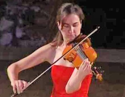 Trapani, concerto spettacolo della violinista Marta Pasquini