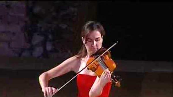Musica, concerto della violinista Marta Pasquini al Duomo di Monreale