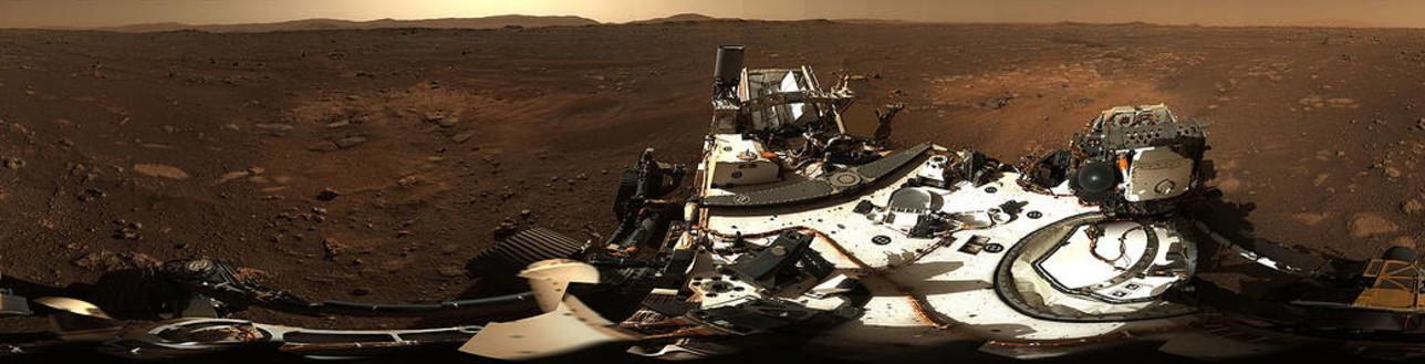 La Nasa pubblica foto di Marte scattate da Perseverance