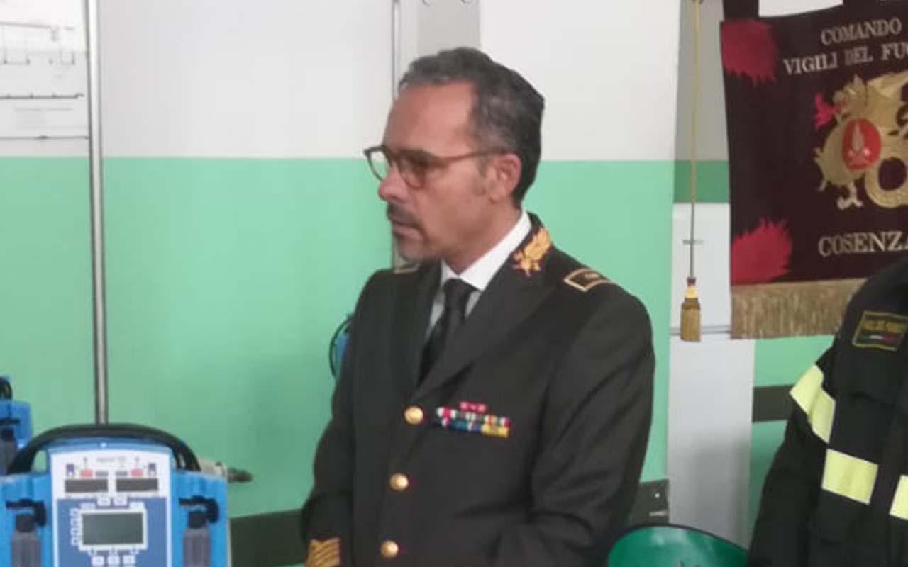 Concussione, concessi i domiciliari all'ex comandante dei vigili del fuoco di Cosenza