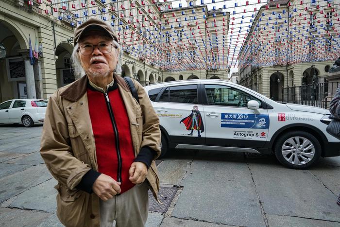 Il disegnatore giapponese Matsumoto ricoverato in prognosi riservata all'ospedale di Torino