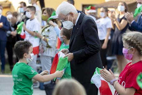 Scuole aperte in 12 Regioni, Mattarella  a Vo'  Euganeo per l'inizio dell'anno scolastico