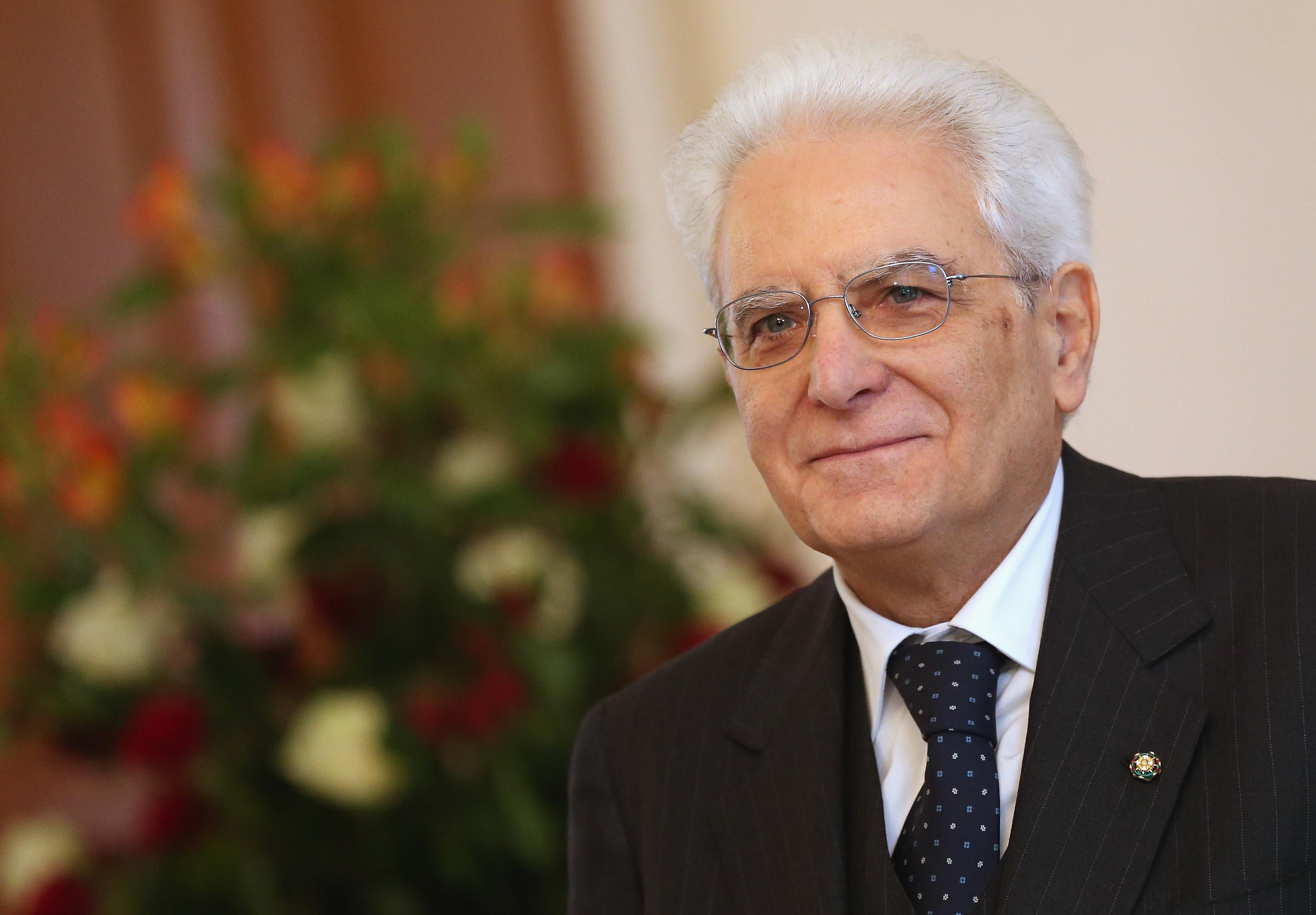 Il presidente Mattarella a Palermo per le festività di Natale