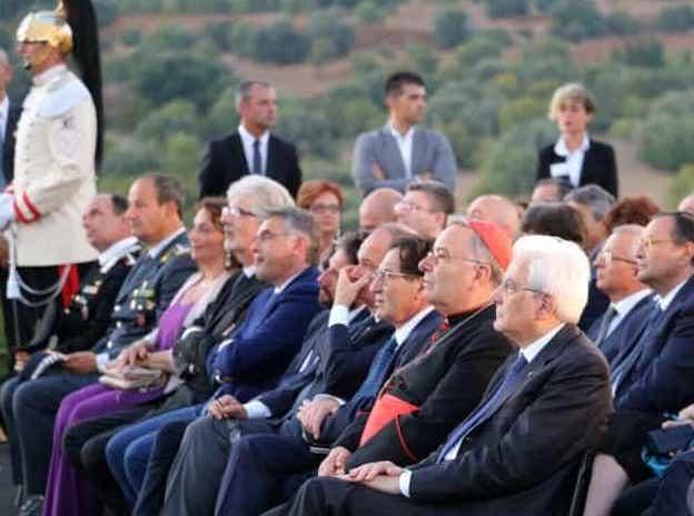 Mattarella visita la casa di Pirandello e la Valle dei Templi