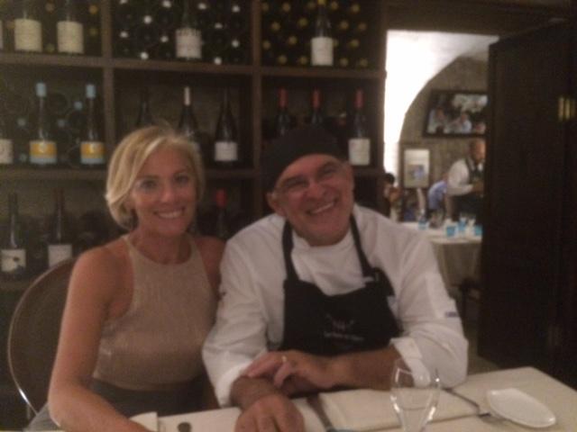 """Maria Concetta Mattei a Siracusa, per la cena sceglie """"Don Camillo"""""""