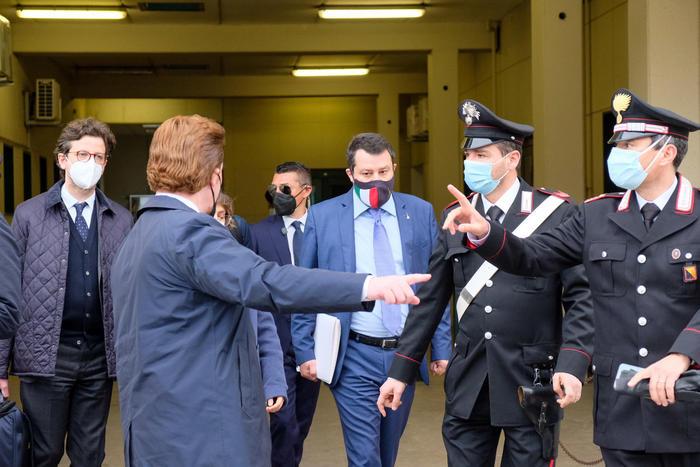 Open Arms,  Salvini a giudizio a Palermo per sequestro di persona