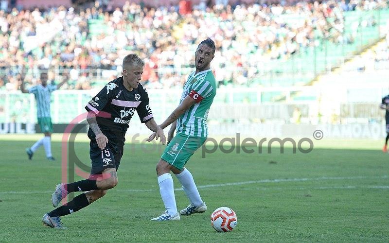 Riprende la grande corsa del Palermo che vince il derby con l'Acr Messina (1 - 0)
