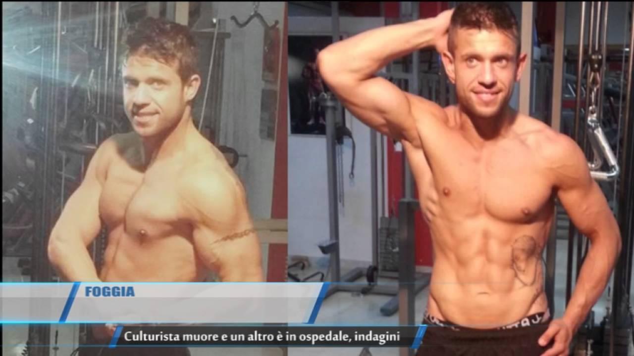 Morte bodybuilder Racano Giovanni