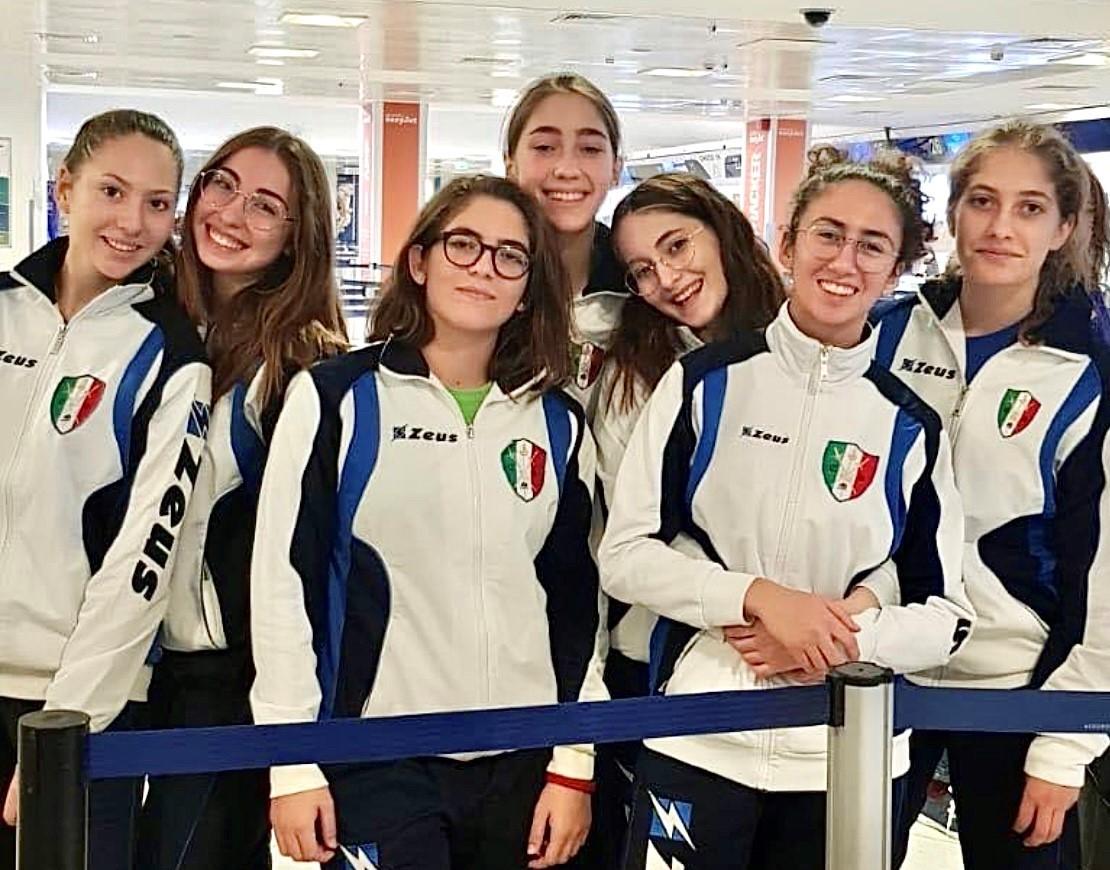 Scherma, sette atlete di Mazara all'allenamento della Nazionale Under 20 di sciabola