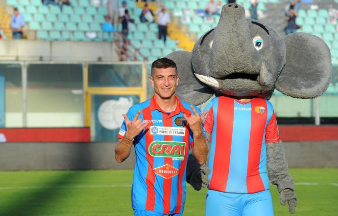 Al Catania basta un gol di Mazzarani per battere il Picerno, ma quanta paura