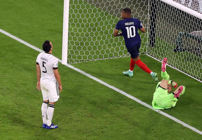 Europei, un super Mbappé trascina la Francia al successo contro la Germania
