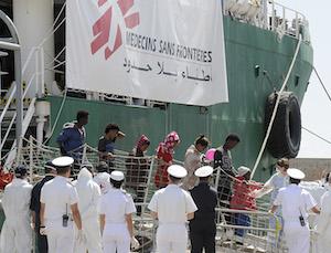 In arrivo ad Augusta 480 migranti, quasi tutti subsahariani