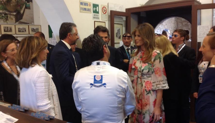 G7, Catania: pranzo in municipio per first lady e gentleman