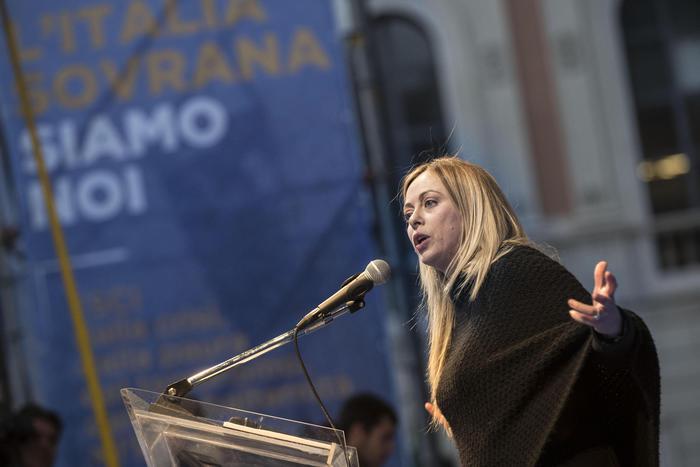 Meloni a Palermo: spero che il Centrodestra sia unito in Sicilia
